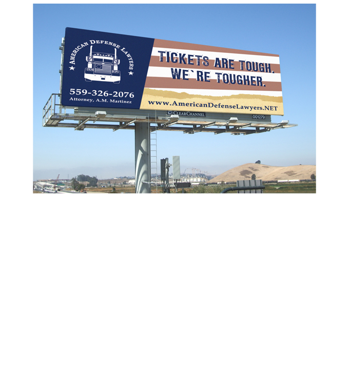 American Defense Lawyers – Billboards